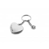 VW srdce na klíče, kamínky Swarovski