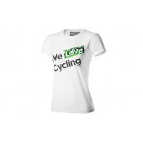 Dámské tričko WLC bílé S