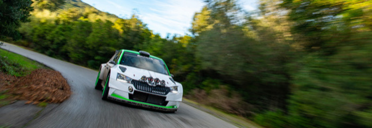 Skvěle připravena na sezónu 2021: ŠKODA FABIA Rally2 evo dostala paket vylepšení