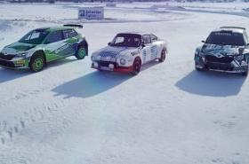 Závodní legendy na sněhu a ledu