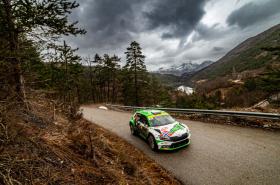 Chorvatská rallye: Andreas Mikkelsen chce s vozem ŠKODA FABIA Rally2 evo zvýšit vedení ve WRC2
