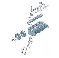 Tesneni driku ventilu ŠKODA (originál)