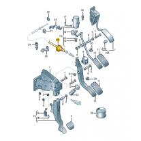 Spojeni bowdenove akcelerace ŠKODA (originál)
