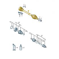 Hridel kloubovy se synchronni- ŠKODA (originál)