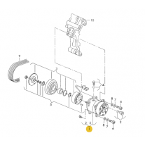 Kompresor klimatizace ŠKODA (originál)