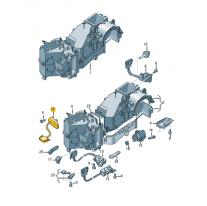 Servomotor klimatizace ŠKODA (originál)
