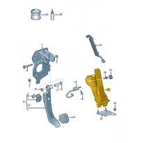 Pedal plynu s electronickym ŠKODA (originál)